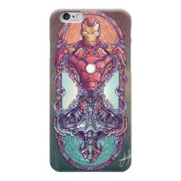 """Чехол для iPhone 6 """"Мстители"""" - комиксы, железный человек, iron man, альтрон, ultron"""