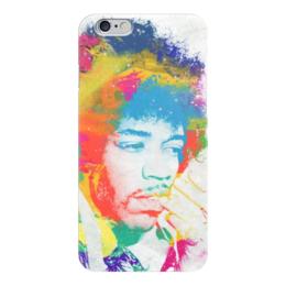 """Чехол для iPhone 6 """"Джими Хендрикс (Jimi Hendrix)"""" - jimi hendrix, джими хендрикс"""