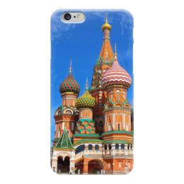 """Чехол для iPhone 6 """"Красная площадь Москва"""" - москва, кремль, красная площадь, собор василия блаженного"""