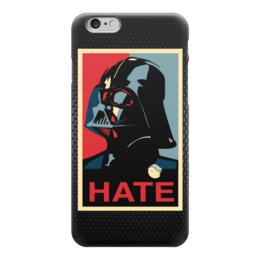 """Чехол для iPhone 6 """"Дарт Вейдер (Звездные Войны)"""" - hate, star wars, darth vader, звездные войны, дарт вейдер"""