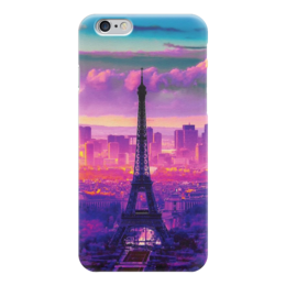 "Чехол для iPhone 6 ""Эйфелева башня, Париж"" - france, франция, париж, paris, эйфелевая башня"