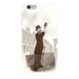 "Чехол для iPhone 6 глянцевый ""Винтажное селфи"" - ретро, винтаж, фотограф, сэлфи"