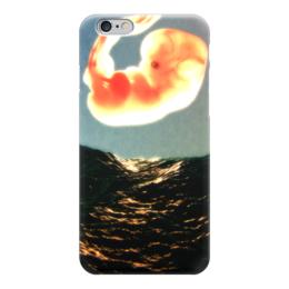 "Чехол для iPhone 6 ""Эмбрион"" - арт, море, рисунок, графика, закат"
