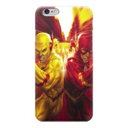 "Чехол для iPhone 6 ""Обратный Флэш"" - рисунок, комиксы, кино, флэш"