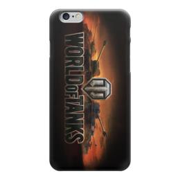 """Чехол для iPhone 6 глянцевый """"world of tanks"""" - world of tanks, мир танков, wot, танки"""