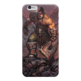 "Чехол для iPhone 6 глянцевый ""Warcraft"" - варкрафт, world of warcraft, warcraft, война, орки"