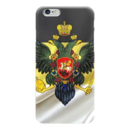 """Чехол для iPhone 6 """"Империя"""" - война, герои, россия, русь, мужчинам"""