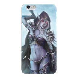"Чехол для iPhone 6 ""Sylvanas Windrunner"" - blizzard, world of warcraft, варкрафт, близзард, сильвана"