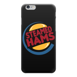 """Чехол для iPhone 6 """"Steamed Hams (Simpsons)"""" - симпсоны, the simpsons, steamed hams"""