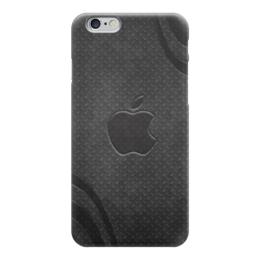 "Чехол для iPhone 6 ""Apple"" - яблоко, карбон, эпл, стив джобс"