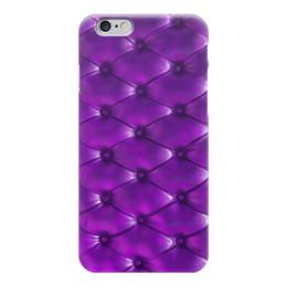 "Чехол для iPhone 6 ""Кожа, обивка"" - текстура, кожа, texture, обивка"