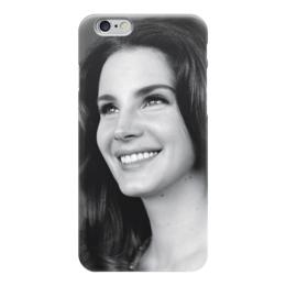 """Чехол для iPhone 6 """"Lana Del Rey """" - счастье, улыбка, lana del rey, лана дель рей"""