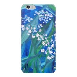 """Чехол для iPhone 6 глянцевый """"Сказка"""" - весна, лес, красота, май, ландыш"""