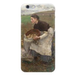 "Чехол для iPhone 6 ""Октябрь. Сбор картофеля"" - картина, бастьен-лепаж"
