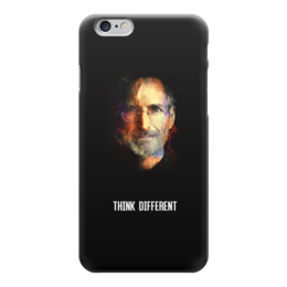 "Чехол для iPhone 6 ""Think Different"" - steve jobs, стив джобс, think different"