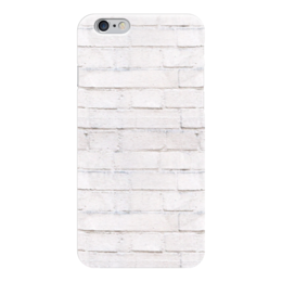 """Чехол для iPhone 6 """"Кирпичный"""" - узор, рисунок, стена, камень, кирпич"""