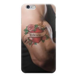 """Чехол для iPhone 6 """"Надежда"""" - 14 февраля, для девочек, надежда, надя, наденька"""