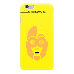 "Чехол для iPhone 6 ""C-3PO"" - star wars, звездные войны, c3po, ситрипио"