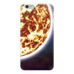 """Чехол для iPhone 6 """"Солнце"""" - космос, наука, прогресс, денис гесс, the spaceway"""