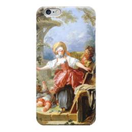 """Чехол для iPhone 6 """"Игра в прятки"""" - картина, фрагонар"""