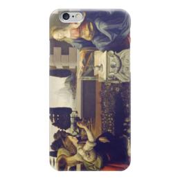 "Чехол для iPhone 6 ""Благовещение (картина Леонардо да Винчи)"" - картина, да винчи"