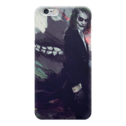 """Чехол для iPhone 6 глянцевый """"Джокер"""" - joker, dc, dc comics, джокер, комиксы"""