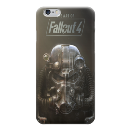 "Чехол для iPhone 6 ""The ART of Fallout 4"" - fallout, steam, bethesda, видеоигры, fallout 4"