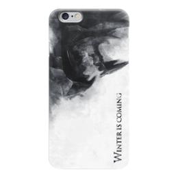 """Чехол для iPhone 6 """"Зима Близко (Winter is Coming)"""" - игра престолов, winter is coming, game of thrones, зима близко"""