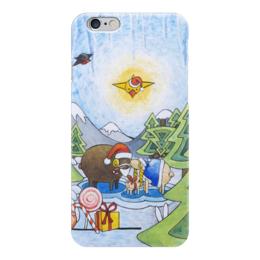 "Чехол для iPhone 6 ""Lollypups #19 (Best gift) "" - праздник, зима, подарок, баран, овца"