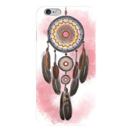 """Чехол для iPhone 6 """"Ловец снов"""" - розовый, ловец снов, dreamcatcher, бохо, ловцы снов"""