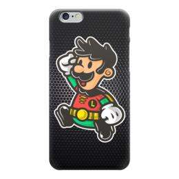 "Чехол для iPhone 6 ""Robin x Luigi"" - mario, марио, робин, луиджи"