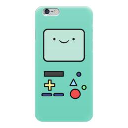 "Чехол для iPhone 6 глянцевый ""БиМО. Время Приключений"" - бимо, bmo, adventure time, время приключений"