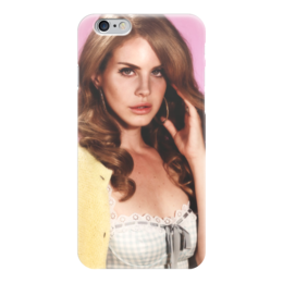 """Чехол для iPhone 6 глянцевый """"Лана Дель Рей"""" - лана, лана дель рей"""