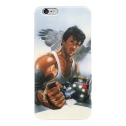 "Чехол для iPhone 6 ""Сильвестр Сталлоне (Изо всех сил)"" - сильвестр сталлоне, изо всех сил, over the top"