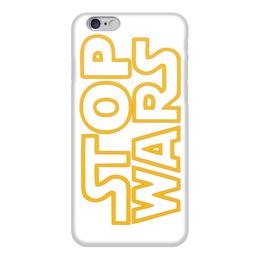 """Чехол для iPhone 6 """"Стоп войне"""" - война, стоп, stop wars, прекратить войны"""