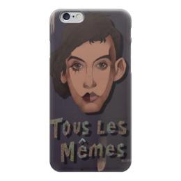 """Чехол для iPhone 6 глянцевый """"tous les memes """" - stromae, поль ван авер, tous les memes"""