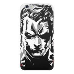 "Чехол для iPhone 6 ""Супермен (Superman)"" - комиксы, супермэн, марвел, кларк кент, супс"