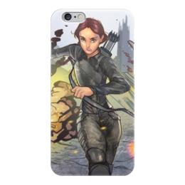 """Чехол для iPhone 6 """"Голодные игры"""" - hunger games, katniss everdeen"""