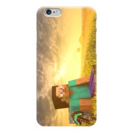 "Чехол для iPhone 6 ""Майнкрафт"" - minecraft, майнкрафт, поле, вид"