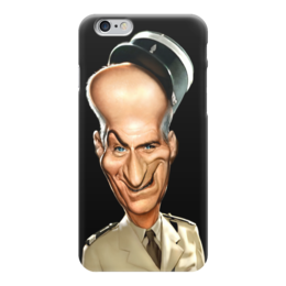 "Чехол для iPhone 6 ""Louis de Funes"" - france, комик, актёр, луи де фюнес, louis de funes"