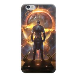 """Чехол для iPhone 6 глянцевый """"Starpoint Gemini Warlords"""" - космос, планета, взрыв, игра, компьютерная игра"""