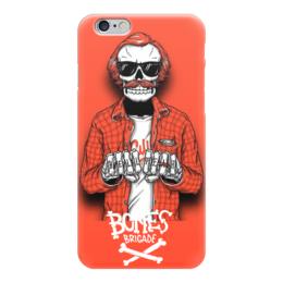 """Чехол для iPhone 6 """"Bones Brigade"""" - skull, череп, skeleton, скелет, bones brigade"""