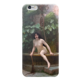 "Чехол для iPhone 6 ""Истина, выбирающаяся из колодца (Жан-Леон Жером)"" - картина, жером"