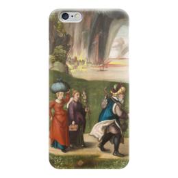 """Чехол для iPhone 6 """"Бегство Лота"""" - картина, дюрер"""