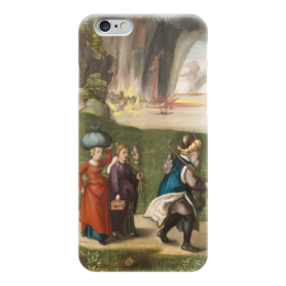 "Чехол для iPhone 6 глянцевый ""Бегство Лота"" - картина, дюрер"