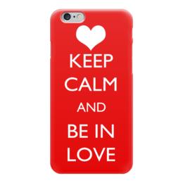 "Чехол для iPhone 6 ""Happy Valentine's Day"" - любовь, love, с днём святого валентина, keep calm, happy valentine's day"
