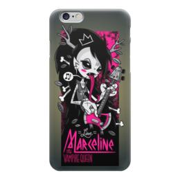 "Чехол для iPhone 6 глянцевый ""Vampire rocker girl"" - девушка, girl, рок музыка, гитарист, vampire"