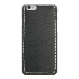 """Чехол для iPhone 6 глянцевый """"Кожа с прошивкой"""" - стиль, стильный, кожа, кожаный"""