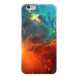 """Чехол для iPhone 6 """"Космическая туманность"""" - космос, фотография, звёзды, спутник, туманность"""