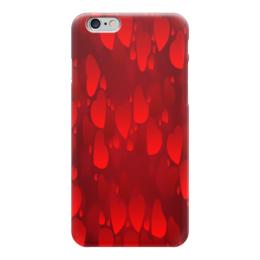 """Чехол для iPhone 6 глянцевый """"Сердечки"""" - сердце, любовь, love is, романтика"""